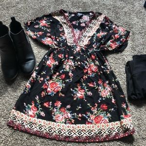 Angie Brand Floral Tunic